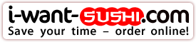 I-WANT-SUSHI.com – Save Your Time - Order Online!